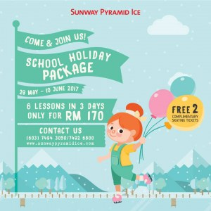 Sunway Pyramid Ice School Holidays Deal