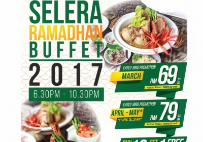 Ramadan Buffet Dinner @ Halia, Sime Darby Convention Centre from RM60