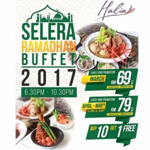 Ramadan Buffet Dinner @ Halia, Sime Darby Convention Centre from RM60