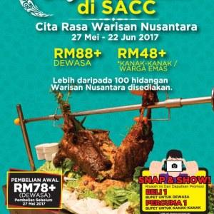 Cita Rasa Nusantara Ramadan Buffet @ Westside Bistro, Shah Alam Convention Centre for RM63.60