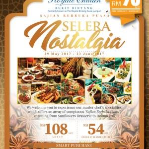 Selera Nostalgia Ramadan Buffet @ Sunflowers Brasserie, The Royale Chulan KL from RM54