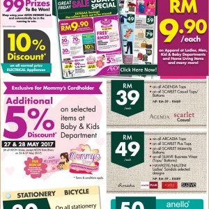 AEON Stores Great Friday Sale