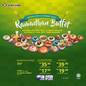 Sushi King Ramadhan Buffet Offer