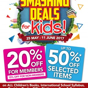 MPH Bookstores Smashing Deals for Kids - Up to 50% OFF