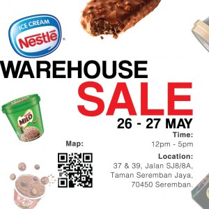 Nestle Warehouse Sale by Agro Aquatic Products (Seremban)
