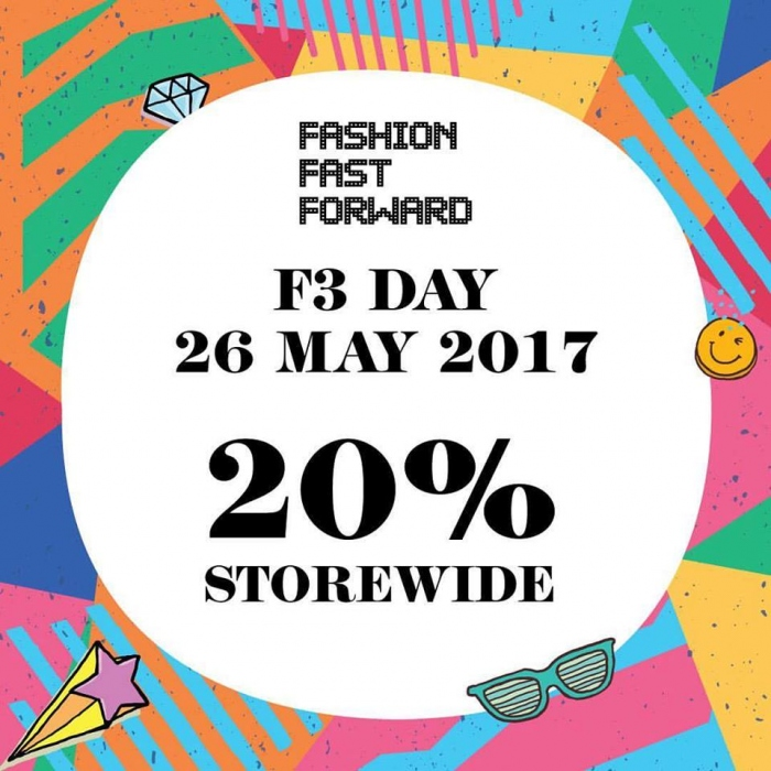 Fashion Fast Forward Day - 20% OFF Storewide