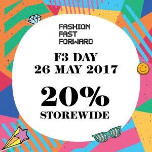 Fashion Fast Forward Day - 20% OFF Storewide
