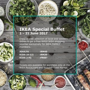 IKEA Special Ramadan Buffet Treats