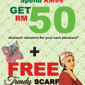 BATA Shoes Hari Raya Promotion - Spend RM99 and Get RM50 Voucher
