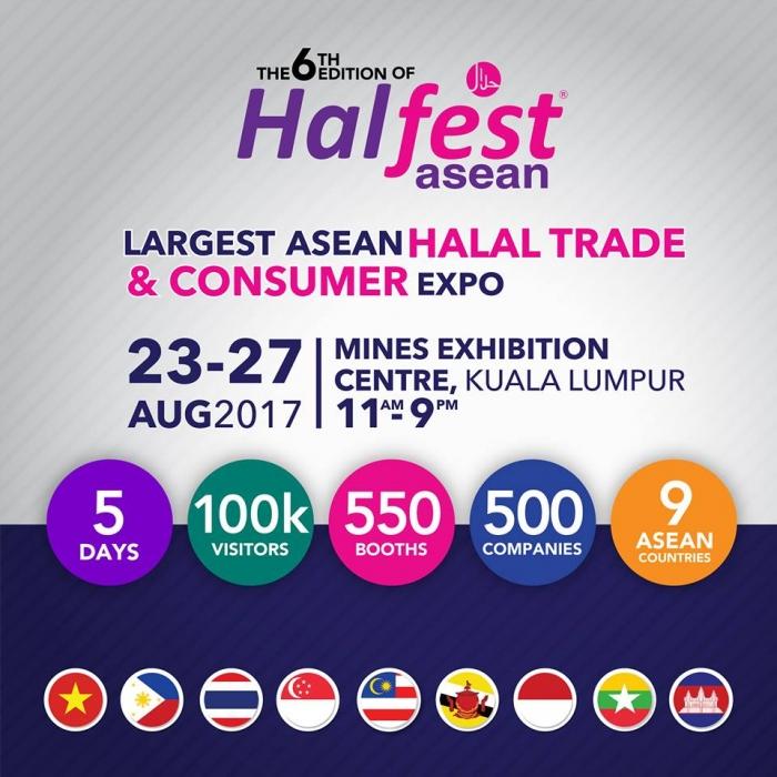The 6th Halfest Asean - Halal Trade & Consumer Expo