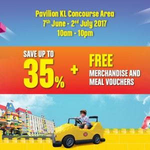 Legoland Ramadhan Roadshow - Up To 35% OFF + FREE Merchandise & Voucher