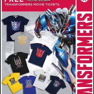 Free Transformers The Last Knight Movie Tickets For Purchase @ F.O.S. Mid Valley