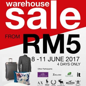 Akemiuchi Branded Warehouse Sale From RM5