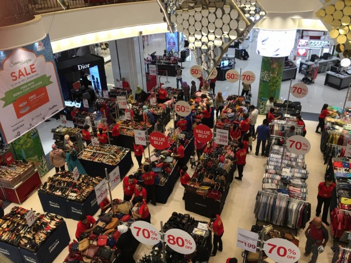 KL Sogo Jualan Sinar Aidifitri - Branded Fashion Up To 80% OFF