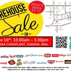 Delfi Marketing Warehouse Sale