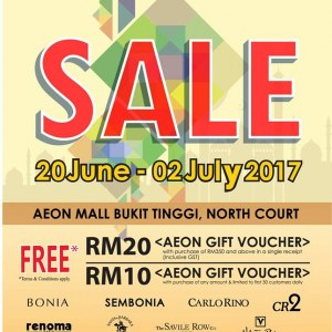 AEON Bukit Tinggi Branded Raya Sale
