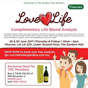 Love Life @ Vitacare Gardens Mall