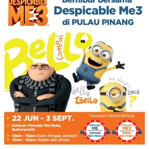 Penang Fun Experiences with Despicable Me3