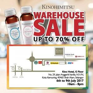 Kinohimitsu Warehouse Sale Up To 70% OFF