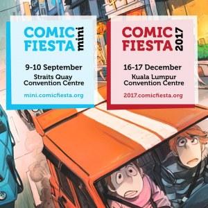 Comic Fiesta Mini 2017 (Penang)