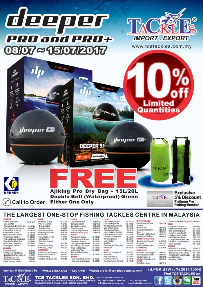 Mega Sale @ Special Offer for Deeper Pro & Pro +
