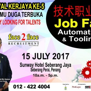 Karnival Kerjaya Ke-5 & Job Fair - Automation & Tooling