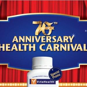 VitaHealth 70th Anniversary Health Carnival