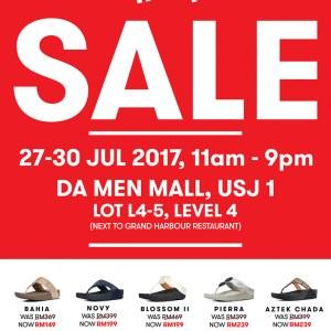 Fitflop Sale @ Da Men Mall @ USJ 1