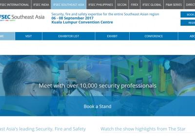 5th Ifsec Southeast Asia 2017