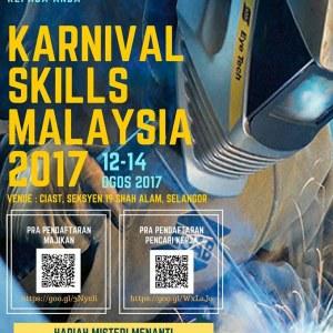 Skills Job Fair @ Karnival Skills Malaysia Zon Tengah 2017