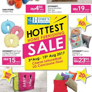 Home's Harmony Home Furnishing Sale - Up To 70% OFF