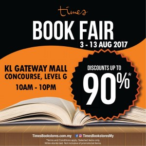 Times Bookstores Books Fair - Up To 90% OFF