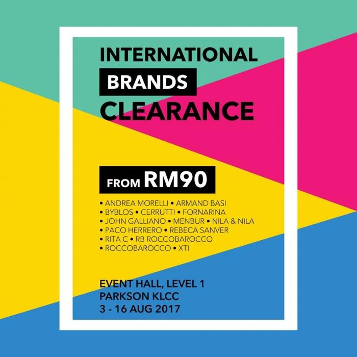 Parkson KLCC International Brands Shoes Clearance
