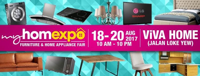 My HomExpo - Furniture & Home Appliance Fair 2017