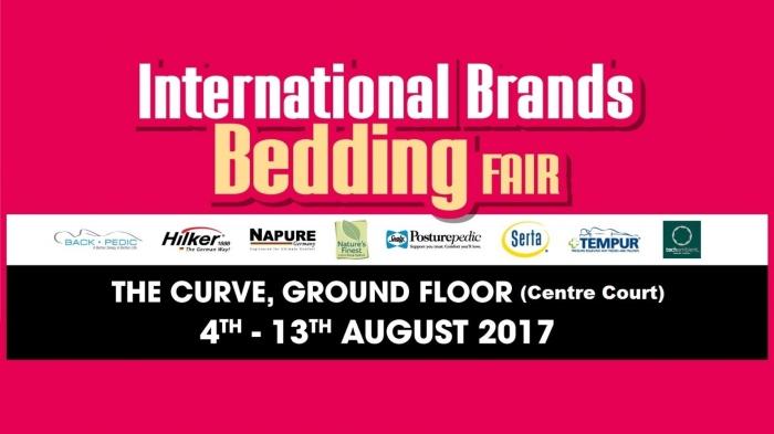 Harvey Norman International Brands Bedding Fair