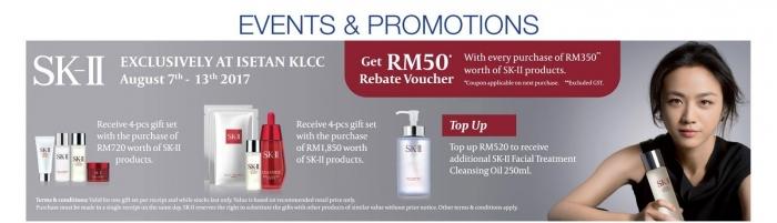 SK-II Exclusive Offer @ Isetan KLCC