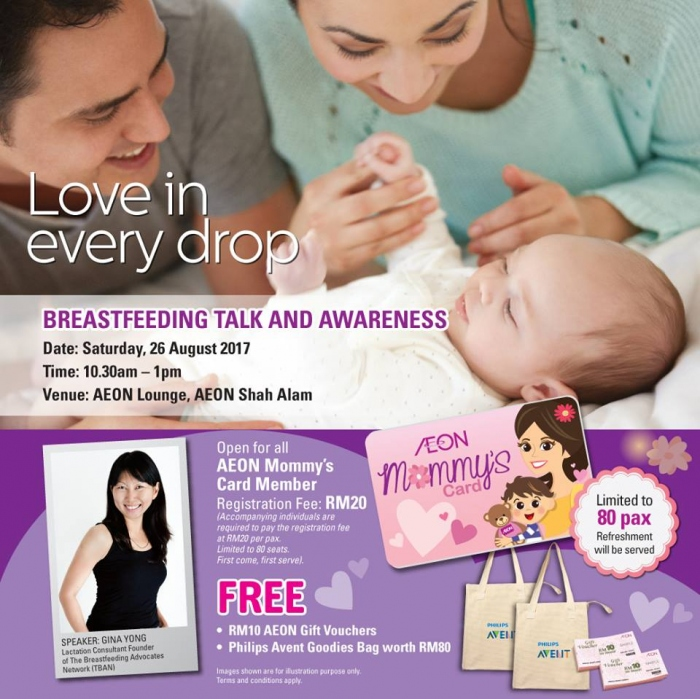 Love in Every Drop Breastfeeding Talk and Awareness