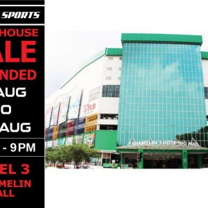 Topper Sports Warehouse Sale - Sports Bargains From RM10