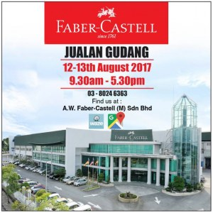Faber-Castell Warehouse Sale