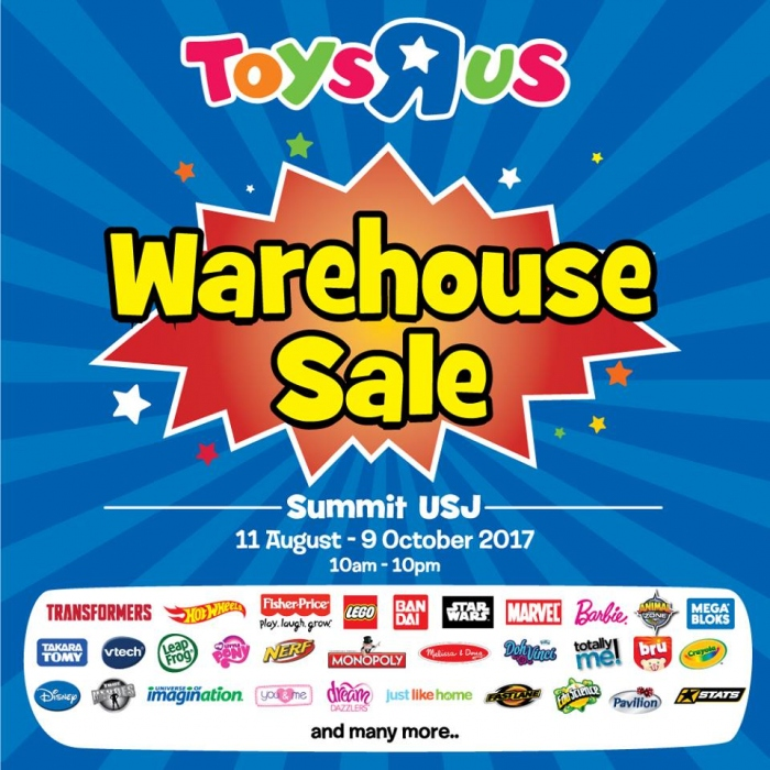 Toys R Us Star Member's Clearance Sale