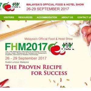Food & Hotel Malaysia - FHM 2017