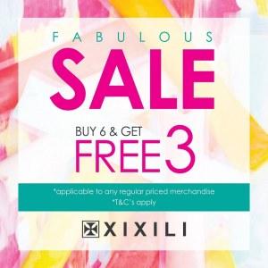 Xixili Fabulous Sale - Buy 6 Get 3 Free