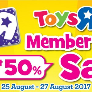 Toys R Us Star Member's Day Sale - Up To 50% OFF