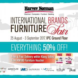 Harvey Norman International Brands Furniture Fair