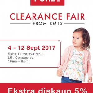 Poney Clearance Fair - Sale From RM13 (Putrajaya)