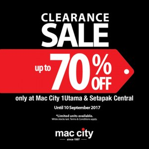 Mac City Clearance Sale - Up To 70% OFF