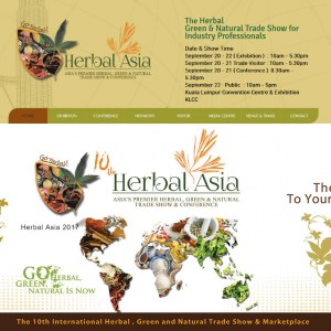 10th Asia's Premier Herbal Trade Show & Conference - Herbal Asia 2017