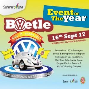 The Volkswagen Beetle Car Show  - Bug-O-Rama 2017