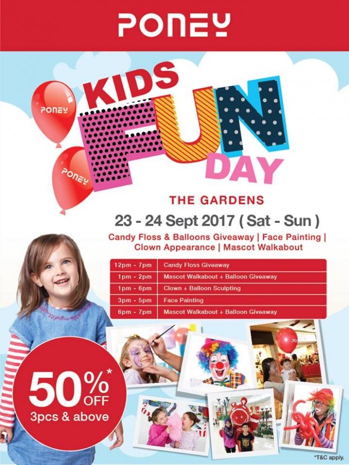 Poney Kids Fun Day @ The Gardens