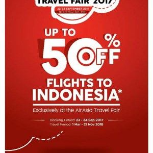 Wonderful Indonesia AirAsia Travel Fair 2017